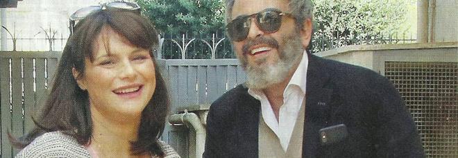 Lorena Bianchetti e il marito Bernardo De Luca con la figlia Estelle (Diva e donna)
