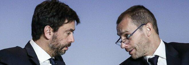 Superlega, Ceferin contro Agnelli: «Mai visto uno mentire così»