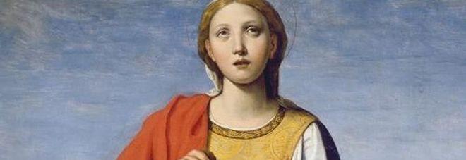 Santa Prassede di Antonio Carracci