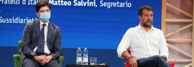 Salvini: «Fiducia in Draghi, no a chiusure per scelta di Speranza. Dopo  Pasqua ritorno alla vita sarà realtà» - Il Mattino.it
