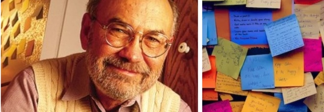 Morto Spencer Silver, l'inventore dell'adesivo usato nei Post-it