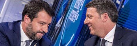 Renzi-Salvini, duello tv su Quota 100 e sui 49 milioni: «Come li ha spesi?»