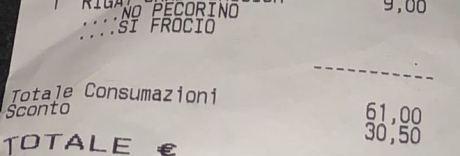 Scritte omofobe sullo scontrino:  licenziato il cameriere, è polemica