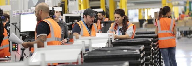 Amazon licenzia i lavoratori a Rieti: in 300 mandati a casa a gennaio