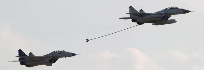 Russia, scontro tra due caccia in volo: ignota la sorte dell'equipaggio