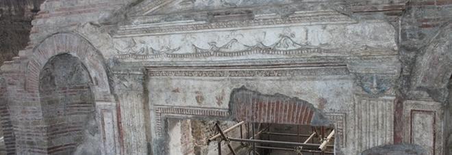 Somma Vesuviana, scoperta grande cisterna nella «villa di Augusto»