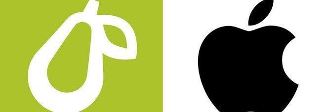 Apple fa causa a una piccola azienda per aver utilizzato una pera stilizzata come logo