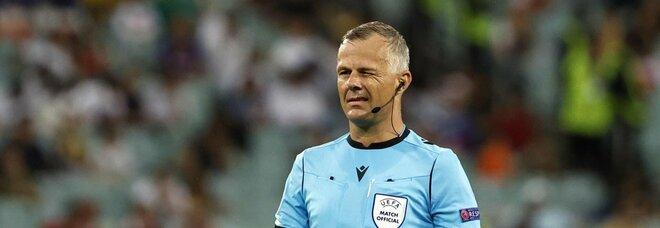 Italia-Inghilterra, sarà l'olandese Kuipers l'arbitro della finale. E il precedente, sempre con gli inglesi, sorride agli azzurri