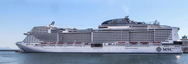 Msc meraviglia nuova ammiraglia dedicata a napoli il for Msc meraviglia foto
