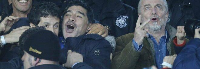 Maradona, De Laurentiis annuncia: «Farò una serie tv di 10 ore per Diego»