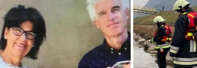 Coppia scomparsa a Bolzano, trovato nell'Adige il corpo della donna. «E' Laura Perselli»