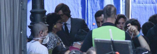 Roma, Lady Gaga a Talenti nel set allestito in via Ugo Ojetti per girare il film su Gucci
