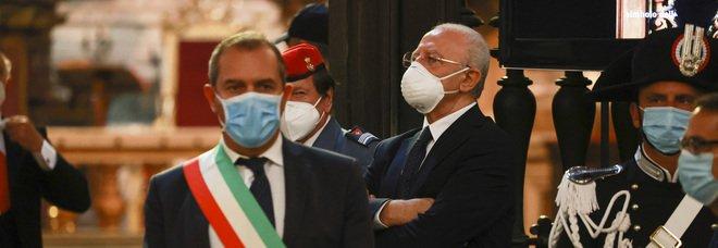 Comunali 2021, De Luca sfida il Pd: «Il destino di Napoli nelle mie mani»