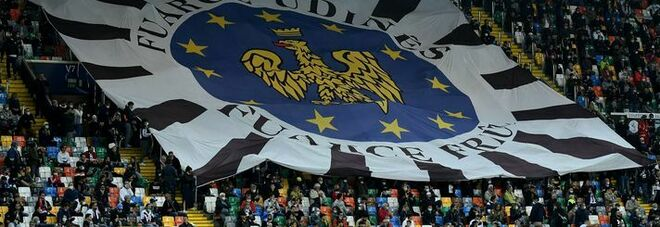 Udinese-Napoli, cori razzisti: multa da 10 mila euro ai friulani