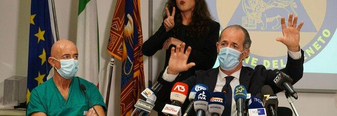 Luca Zaia: «De Luca? Adda passà 'a nuttata». Veneto, 3.570 nuovi contagi e 67 morti