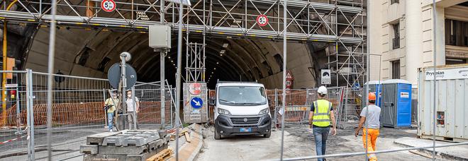 Napoli, consegnato il cantiere della Galleria Vittoria: lavori dal 2 agosto, dureranno quattro mesi