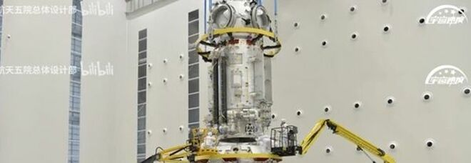 Spazio, lancio primo modulo stazione cinese Tiangong