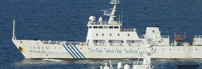 Pacifico, sale la tensione Giappone-Cina per le isole Senkaku: schierati sempre più mezzi militari Mappa