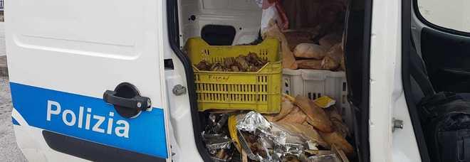 Merce sequestrata dalla Polizia Municipale