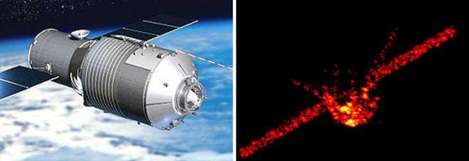 Stazione spaziale cinese Tiangong disintegrata sul Pacifico alle 2.15. Caduta fra Isole Cook e Tahiti Mappa