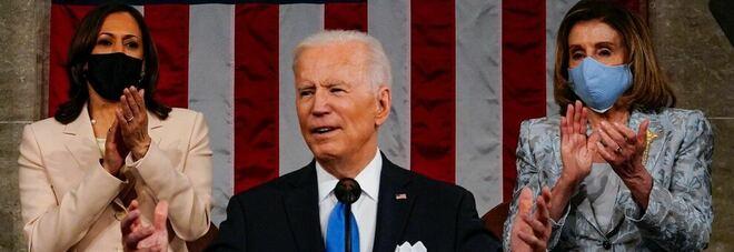 Biden al Congresso in cinque punti: «L'America è tornata per restare»