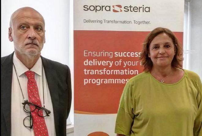 Pozzuoli, l'azienda digitale Sopra Steria inaugura la nuova sede: «60 nuove assunzioni in un anno»