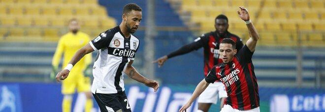 Parma-Milan 1-3, Pioli è secondo ma pesa l'espulsione di Ibrahimovic