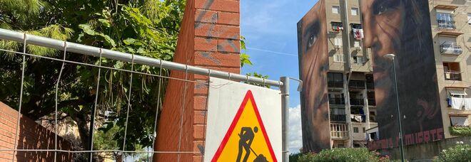 Napoli, un canestro a San Giovanni: al via i lavori per recuperare il parchetto al Bronx