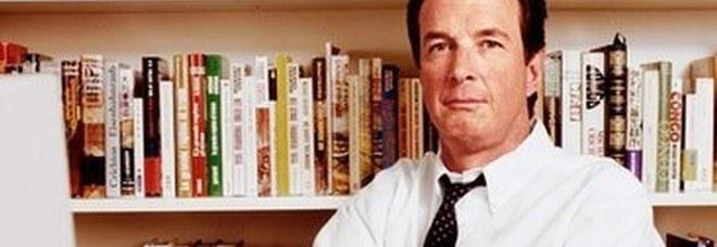 Lo scrittore Michael Crichton