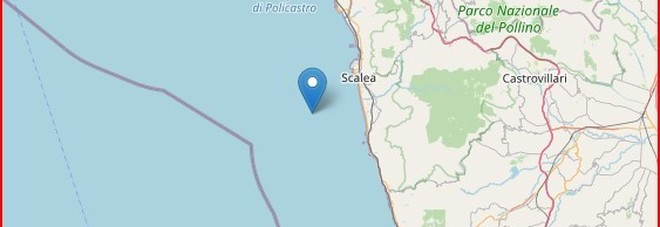 Terremoto, sciame di scosse nella notte a Cosenza e a Rimini, magnitudo 3.2