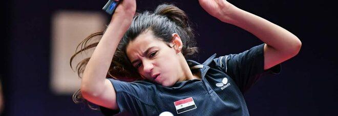 L'atleta siriana di 12 anni scappata dalla guerra: «Lottate per i vostri sogni»