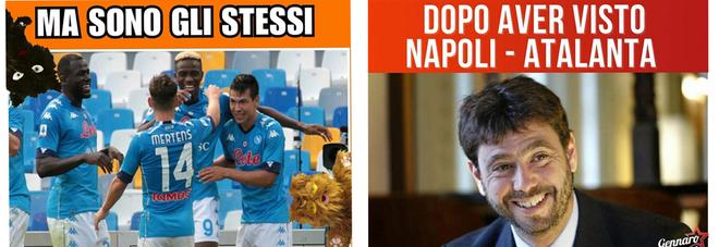 Napoli-Atalanta, è vendetta social: «E adesso la Juve ringrazi l'Asl»