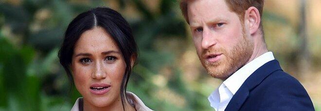 Meghan Markle non andrà sabato ai funerali di Filippo: Harry già in partenza dalla California