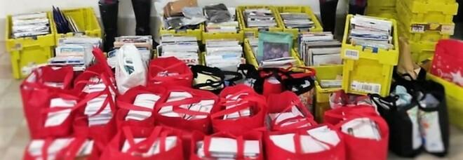Portalettere e ladro di posta nel Napoletano: in casa 2 quintali di corrispondenza mai consegnata