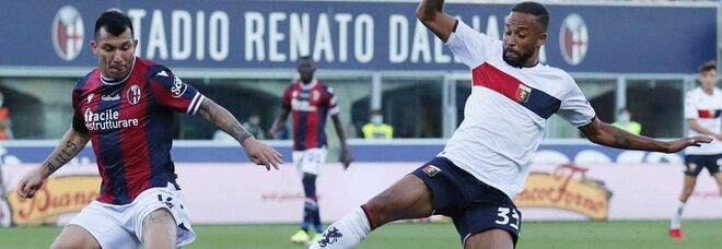 Bologna-Genoa 2-2 di rigore ma nel recupero è decisivo Sirigu