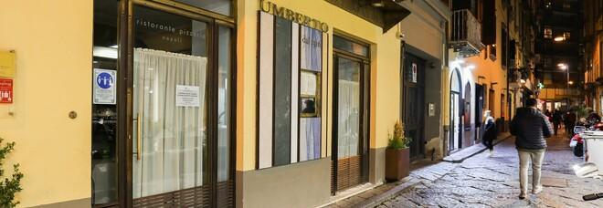 Coprifuoco a Napoli, si ferma lo storico ristorante Umberto. Il titolare Di Porzio: «Mai accaduto in 104 anni»