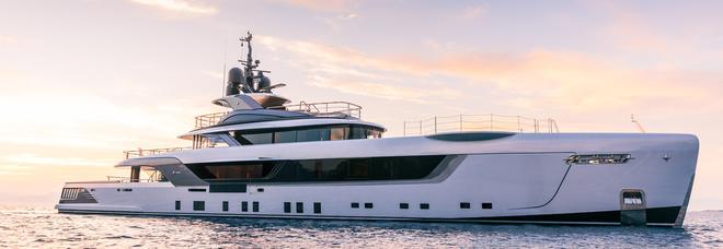 il mega yacht Geco: 55 metri di lusso e comfort made in Italy firmati da Admiral