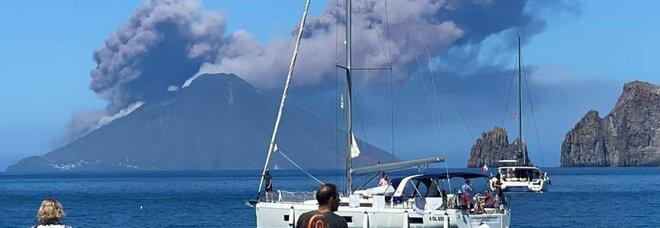 Stromboli, nuova forte eruzione