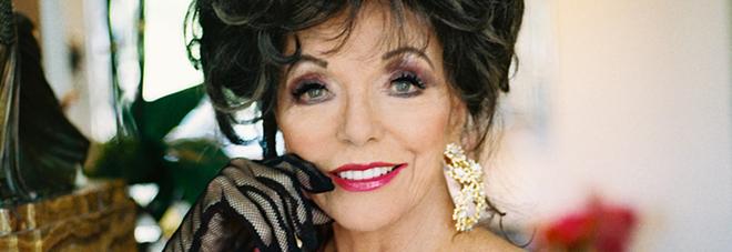 Joan Collins, l'appartamento va a fuoco: l'attrice di Dinasty ricoverata in ospedale
