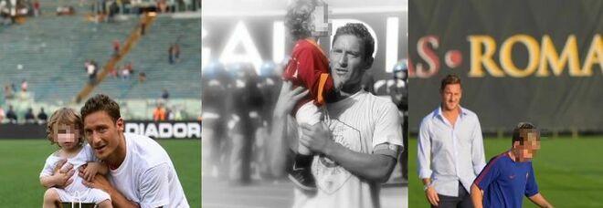 Francesco Totti, gli auguri al figlio Christian su Instagram: parole dolci e una gallery di foto
