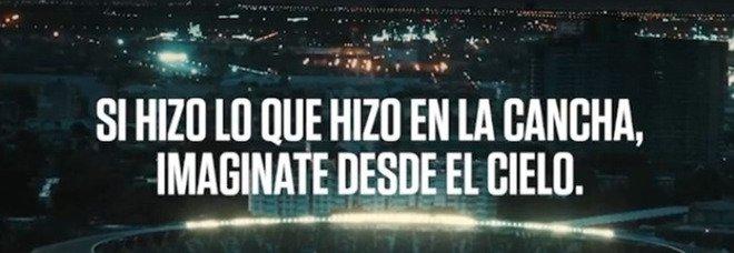 Maradona, spot per la Copa America: «È la prima volta senza Diego»