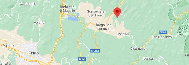 Terremoto nella zona di Firenze a Borgo San Lorenzo: magnitudo 3.1