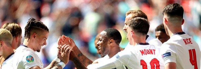 Inghilterra-Croazia 0-0, live