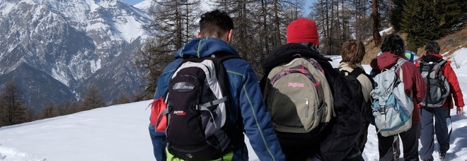 Escursione sul sentiero Bordin sul Sestriere
