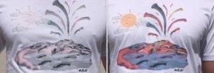 Si colora al sole e racconta una storia È C-Shirt, la maglietta made in Naples