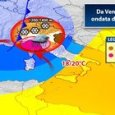 Meteo, attese nevicate al Nord: nel weekend vortice ciclonico al Sud