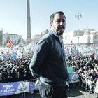 Salvini fa il pieno a Roma: ex Pd e delusi M5S da Sud