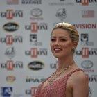 Amber Heard incanta Giffoni: «Ma l'opinione delle donne non vale come quella degli uomini»