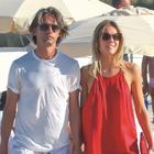 Pippo Inzaghi futuro papà, pancino sospetto in vacanza per la fidanzata Angela Robusti