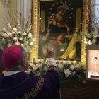 La «Regina» del Rosario di Pompei riceve le chiavi di Borgia